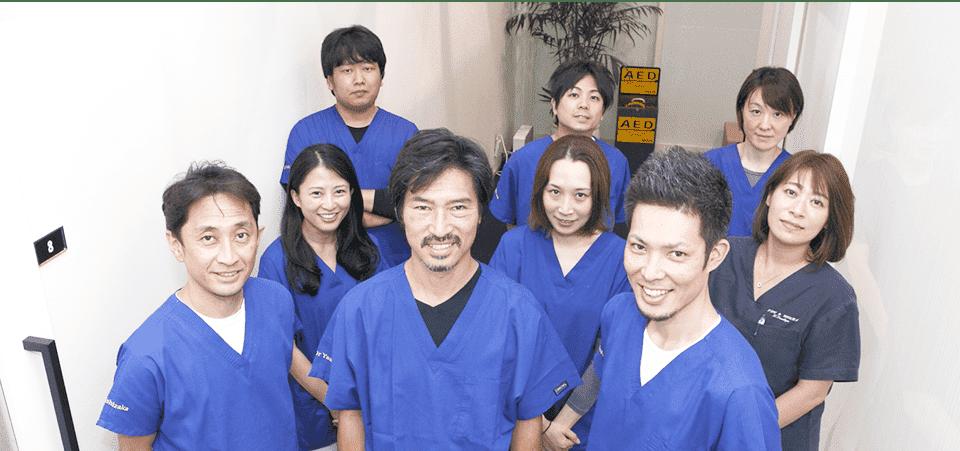 江東区東雲、豊洲の歯医者のキャナルコート歯科クリニック キャナルコート歯科クリニックが選ばれる4つの理由 スタッフ集合写真
